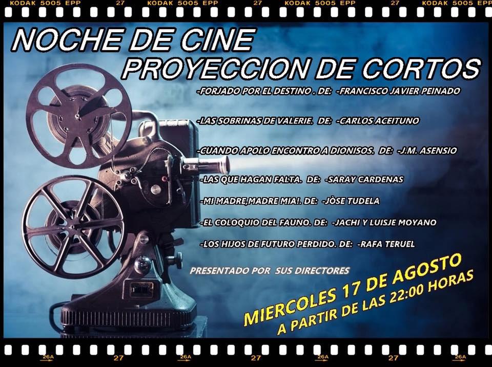 Proyección de cortos en el Pub Banus23 (Torredonjimeno)