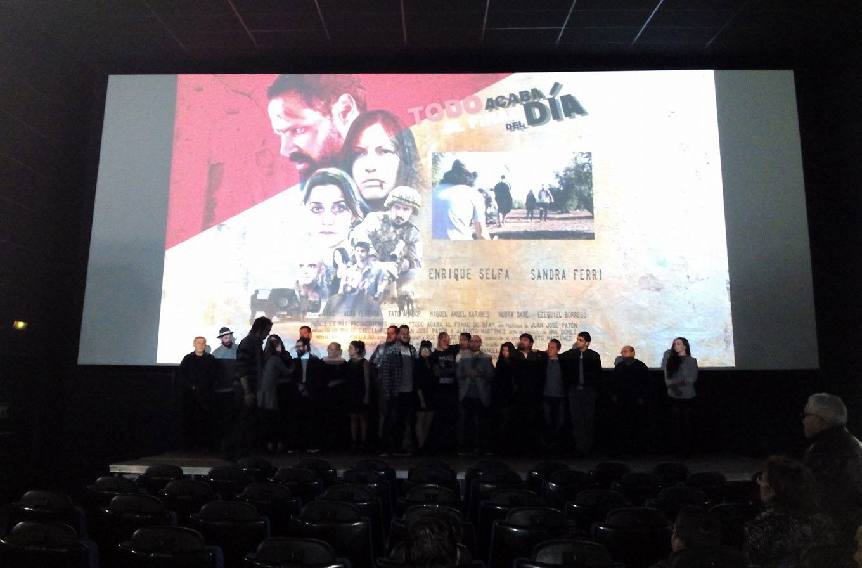 """Estreno del largometraje """"Todo Acaba al Final del Día"""""""