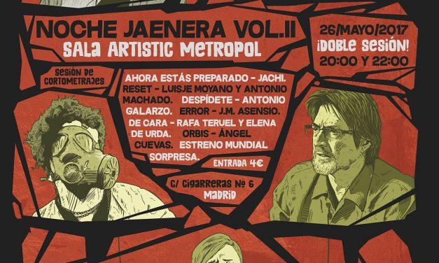 Noche Jaenera Vol. II en la Sala Artistic Metropol (Madrid)
