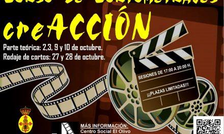 Curso de Cortometrajes en Torredonjimeno