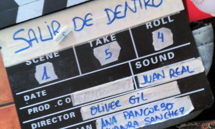 """El actor Óliver Gil dirige en Jaén su segundo cortometraje, """"Salir de Dentro"""""""