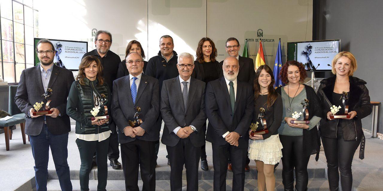 Jaén Audiovisual premiada como Mejor Web en los IV Premios Andalucía de Comunicación Audiovisual Local