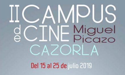 """Abierta la inscripción al II Campus de Cine """"Miguel Picazo"""" de Cazorla"""