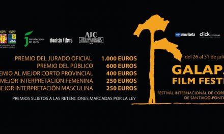 Abierto el plazo para enviar cortometrajes al VI Galapán Film Festival