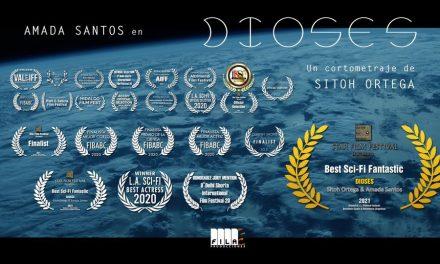 """Nuevo premio para el cortometraje """"Dioses"""" de Sitoh Ortega"""