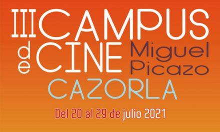 """Abierta la inscripción al III Campus de Cine """"Miguel Picazo"""" de Cazorla"""