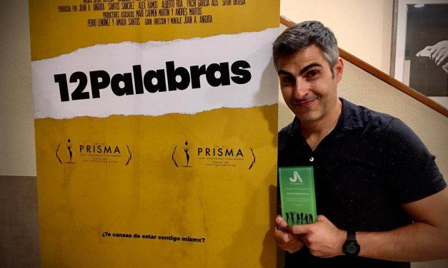 Jaén Audiovisual premia a Juan Antonio Anguita en el estreno de su nueva película