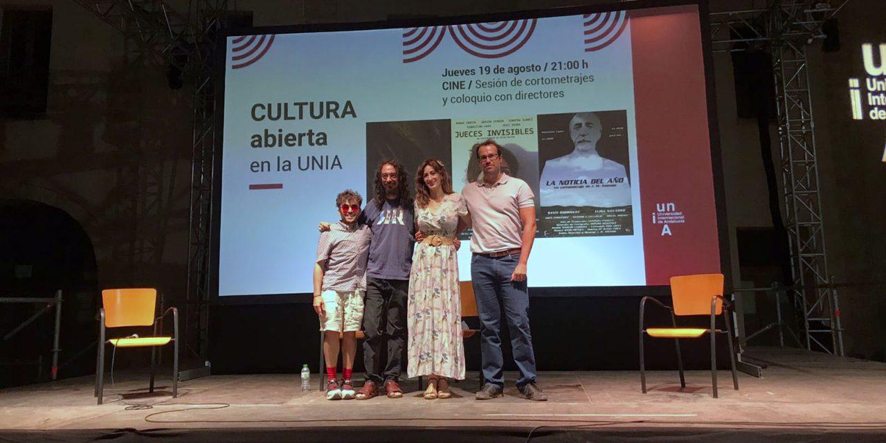 Tres cortometrajes jienenses inauguran el Ciclo de Cine de Verano de la UNIA en Baeza